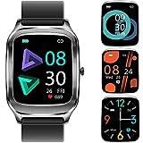 Smartwatch, 1.65Inch Reloj Inteligente, Pulsera Actividad con Fitness Tracker,Cronómetro, Calorías, Podómetro, Pulsómetro, Monitor de Sueño, IP67 Impermeable, Reloj de Fitness para Mujer Hombre Niño