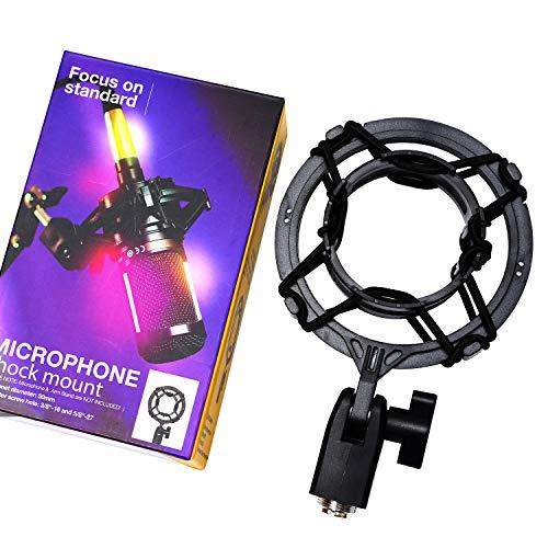 PEBA Mikrofon Shock Mount Halterung Anti-Vibrationsfederung, Kompatibel mit den Audio-Technica Mikrofonmodellen AT2020, AT2020 USB, AT2035, AT2050, AT3035, AT3060