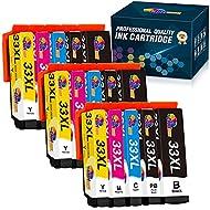 Clorisun 33XL Ink Cartridges for Epson 33XL 33 XL Ink for Epson Expression Premium XP-900 XP-7100 xp...