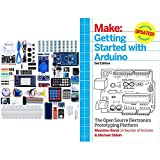 ELEGOO Mega 2560 Project The Most Complete Ultimate Starter Kit w/Tutorial Compatible with Arduino IDE & Getting Started with Arduino: The Open Source Electronics Prototyping Platform (Make)