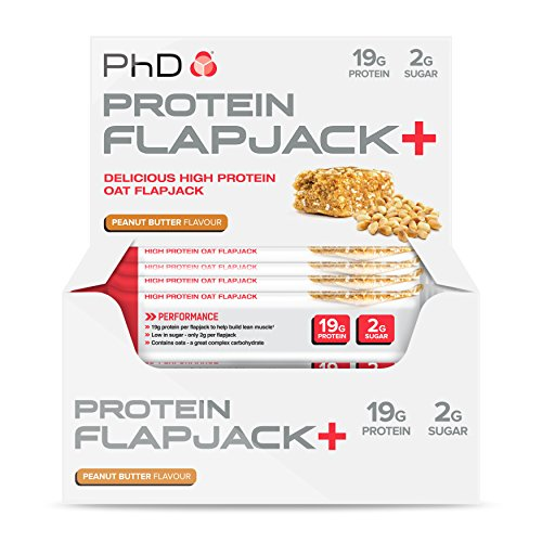 Protein Flapjacks 12x75g Peanut Butter