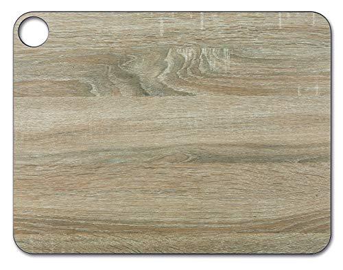 Arcos Tablas, Tabla de Cocina Tabla para Cortar, Fibra de Celulosa y Resina 42, 7 x 32, 7 cm y 6, 5 mm de espesor, Color Marrón