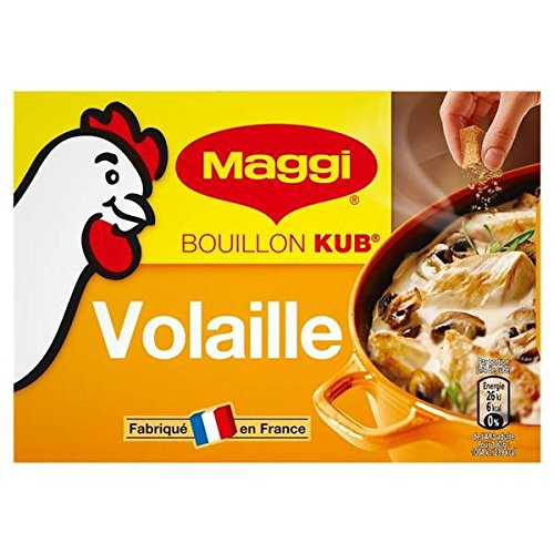 Maggi Hühnerbrühe 180g 18 Tabletten - ( Einzelpreis ) - Maggi bouillon de volaille 18 tablettes 180g