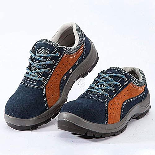 Calzado de trabajo,botas de seguridad,puntera de acero,transpirable,ligero,antipinchazos,sin...