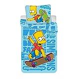 Simpsons Bart Skate Bettwäsche  Bettbezug für Ei