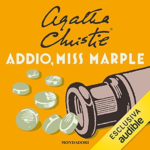 Addio Miss Marple copertina