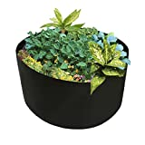 KuGee Cultivar Bolsas 100/150 Galones Transpirable Macizo Plantador Contenedor para Jardín Patio Interior Y Nuestra Puerta