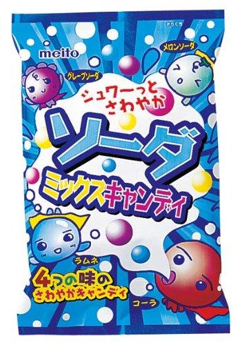 名糖産業 ソーダミックスキャンディ 85g×10袋