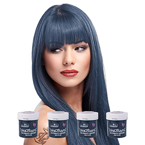 La Riche Directions semipermanente Haarfarbe Tönung 4er-Packung - Schiefer