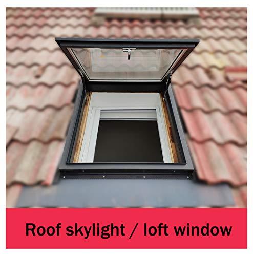 La ventana de techo de aleación de aluminio y el tragaluz/