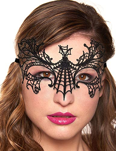 Boldiva Women's Fashion Lace Eye Masks for Masquerade Halloween Venetian Costumes Fancy Dress Carnival Dancing Night Club Event Parties (Design 1)