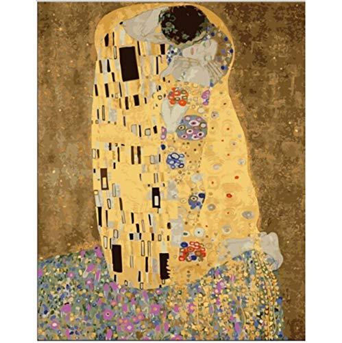 WACYDSD Puzzle 3D Puzzle 1000 Piezas Kits De Bricolaje El Beso De Klimt