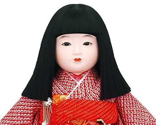 吉徳大光『市松人形正絹四ツ巻疋田絞り12号』
