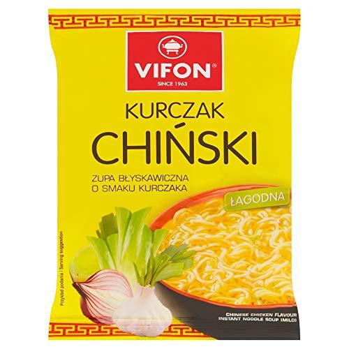 Vifon - Chinesische Hühnchensuppe mild 70g // Vifon - Zupa Kurczak Chi?ski ?agodna 70g