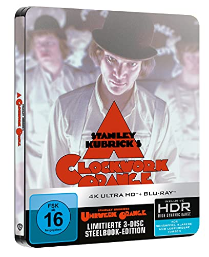 Uhrwerk Orange - Limited Steelbook (4K UHD) [Blu-ray]