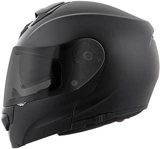 ScorpionExo EXO-GT3000 Full Face Modular Helmet (Matte Black, Large)