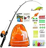 Best Fishing Pole For Kids - YONGZHI Kids Fishing Pole with Spincast Reel Telescopic Review