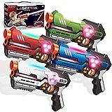 Laser Tag Guns Set of 4   Multiplayers Laser Tag...