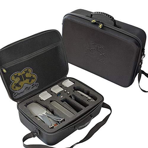 Drone Pit Stop DJI Mavic 2 Pro Case/Mavic 2 Zoom Case - Splash-Proof | Durable | Compact | Semi Hard EVA Material - Will fit The Must Have Mavic 2 Accessories
