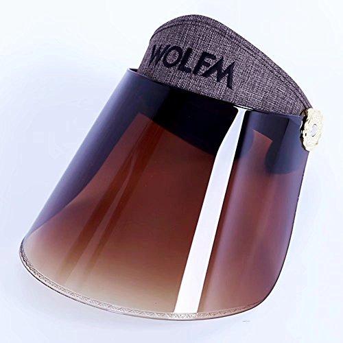 Chapeau de Soleil d'été, Protection UV, Vision Claire, réglable (Couleur: # 07)