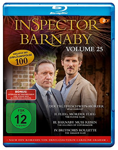 Inspector Barnaby Vol. 25 [Blu-ray]