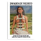 Genérico Diego Frida Texas México Exhibition Museum Rivera – La mejor y más reciente póster para la sala de decoración artística de pared I – Personalizable