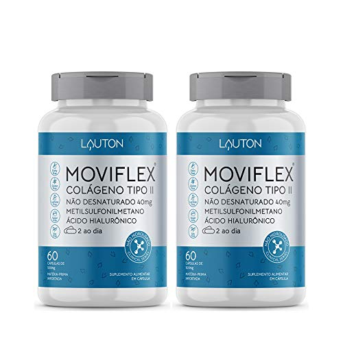 2x Moviflex Colageno Tipo 2 60 Caps - Lauton Nutrition Clinical Series