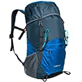 G4Free Lightweight Packable Hiking Backpack 40L Travel Camping Daypack Foldable (Dark Blue)