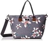 Roxy Good Things - Bolsa de playa con asas de tamaño mediano 19L flores