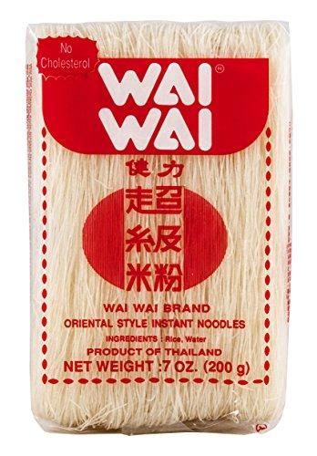 Wai Wai - Fideos De Arroz Extra Finitos, Para Caldos