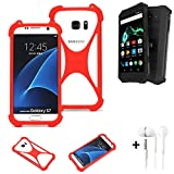 K-S-Trade® Mobile Phone Bumper + Earphones For Archos