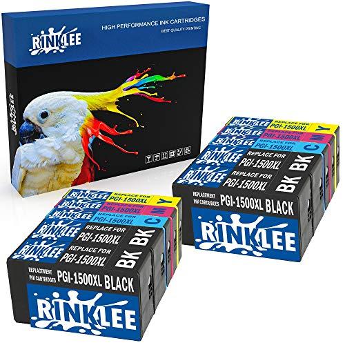 RINKLEE 10 Kompatible PGI-1500XL PGI-1500 XL Druckerpatronen Ersatz für Canon MAXIFY MB2050 MB2350 MB2750 MB2150 MB2155 MB2755