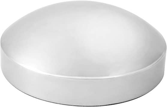 GG Grand General 20153 8-1//4 Inches I.D Chrome Pin Wheel Rear Hub Cap