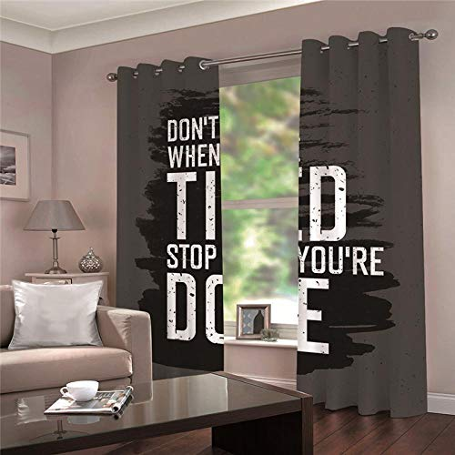 cortinas salon opacas 2 piezas
