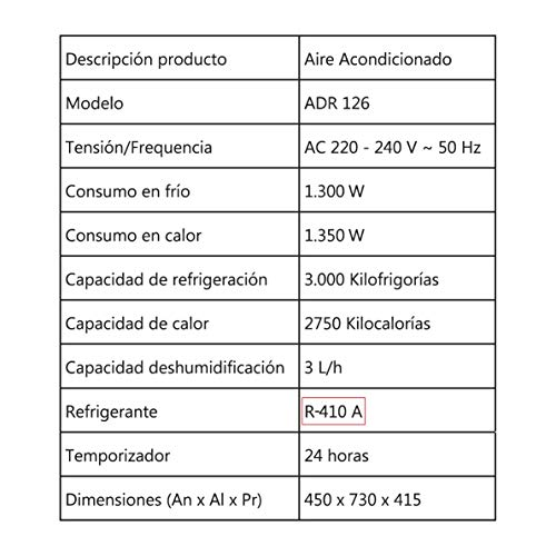 Orbegozo ADR 126