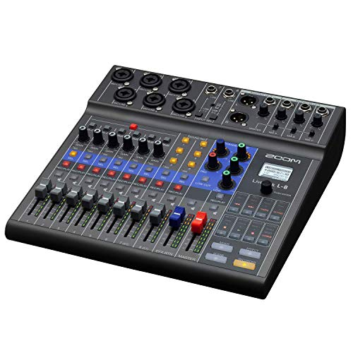 LiveTrak L-8 Rack Mountable Live Mixer/Recorder (Renewed)