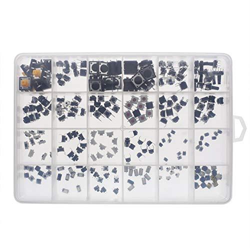 Qingchul Langlebiger und praktischer SMD-DIP-Blatt-Reset-Schalter Verschiedene Micro-Push-Button-Autozubehörteile