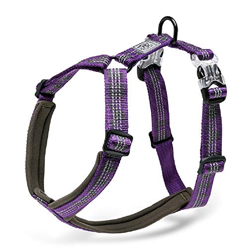 Chai's Choice Best Trail Runner No-Pull Dog Harness. 3M Reflective with Premium Materials. Small, Medium, Large Dogs.Please Use Sizing Chart at Left