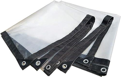 QYJPB Bache Imperméable Polyvalente De Bache Transparente pour des Tentes, Bateaux, Tissu épais D'isolation De Camions - Housses de Prougeection pour Plantes (Taille   2m×5m)