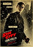 Leinwand Poster Bilder Sin City Retro Wanddekoration