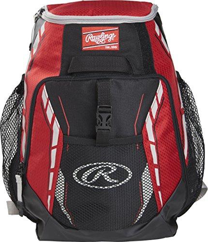 Rawlings Unisex Equipment Bags Backpacks Baseball-Ausrüstungstaschen Rucksäcke, Mehrfarbig, Einheitsgröße