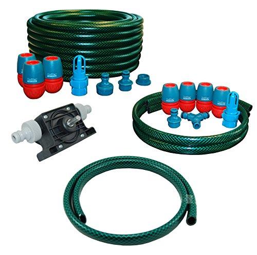 AQUA.REFIT Wasserbetten Service Set Befüllset Entleerung Bohrmaschinenpumpe Dual Pumpe