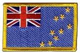 Aufnäher Patch Flagge Tuvalu - 8 x 6 cm