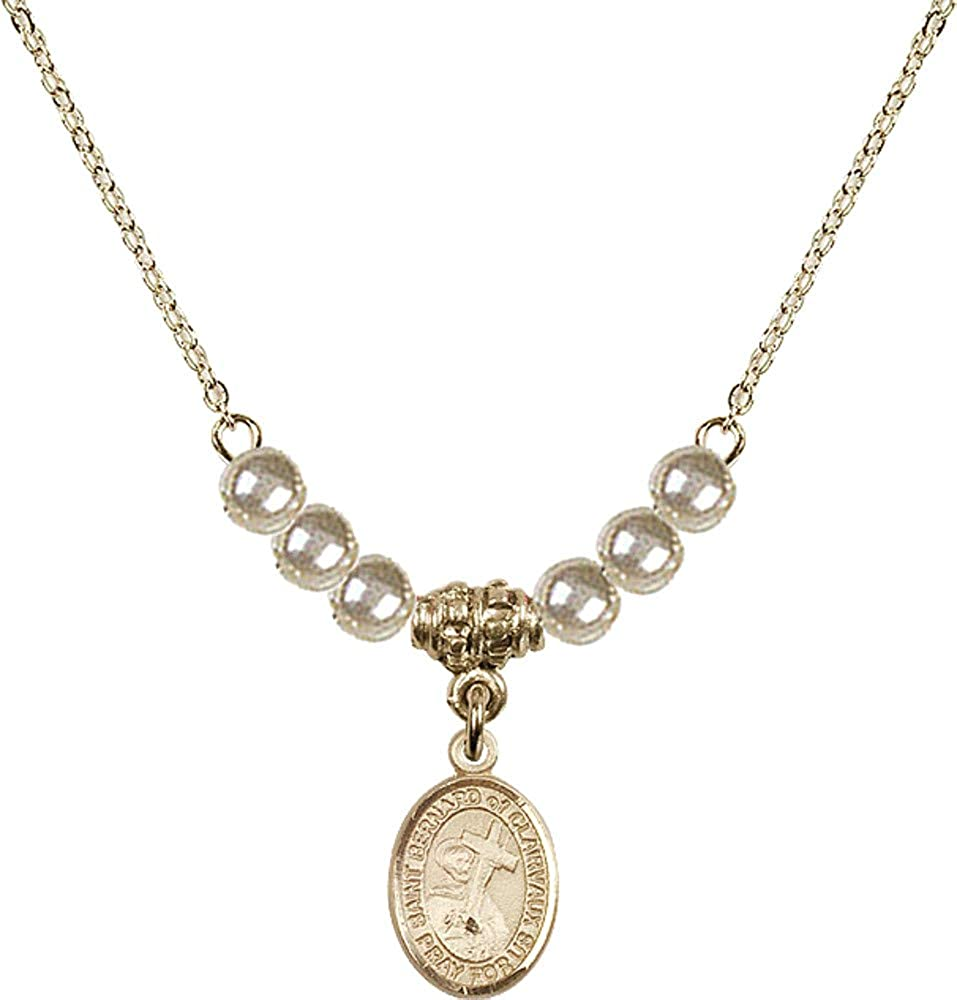 Bonyak Jewelry 18 Inch Hamilton Gold w Plated 4mm Necklace Faux Tampa Mall Indianapolis Mall