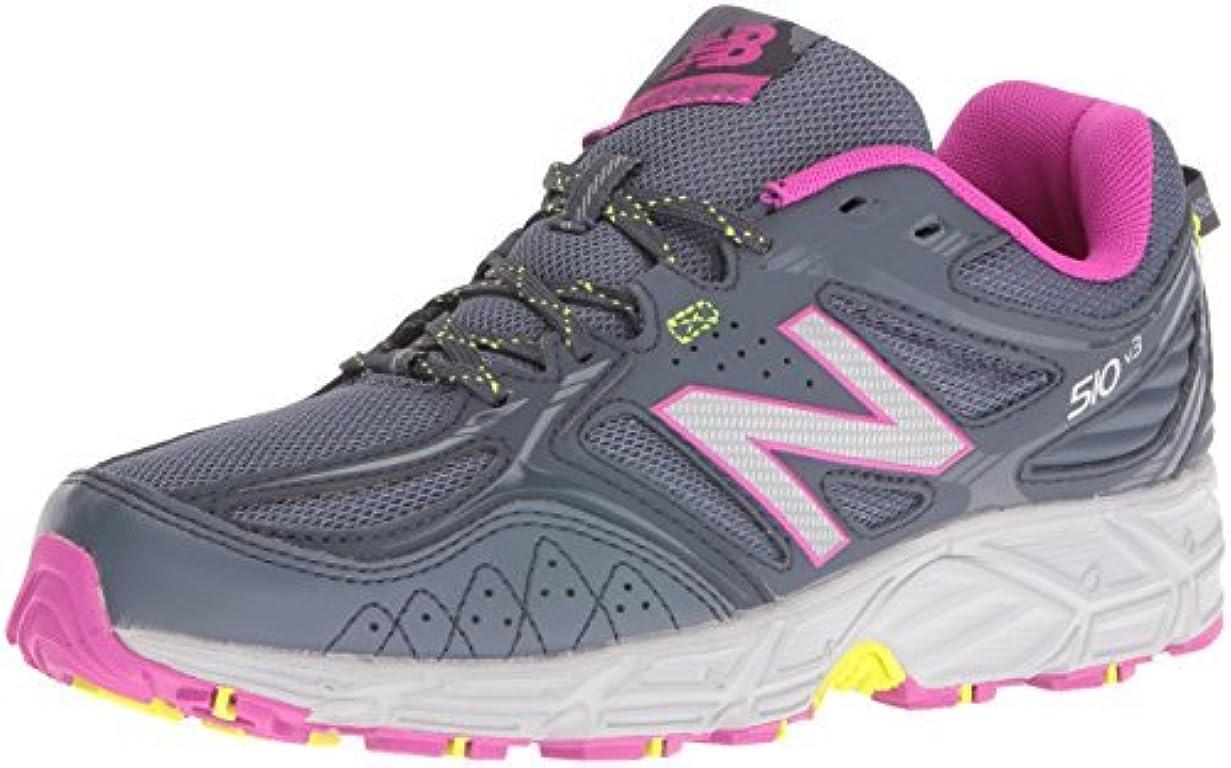 利用可能制限罪New Balance Women's WT510RS3 Trail Running Shoes Dark Grey 7 B US [並行輸入品]