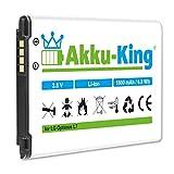 Akku-King Akku kompatibel mit LG BL-44JH, EAC61839001 Li-Ion 1800mAh - für Optimus L7, L5 II, P700, P705, P750, AS730, LG730, E455, Motion 4G, E440