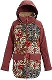 Burton Women's Women's Prowess Jacket, Cheetah Floral/Rose Brown,...