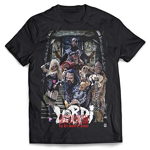 Lordi - Sextourcism, T-Shirt Gr. L Farbe: Schwarz
