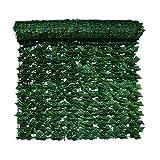 hgni Paneles de Valla de privacidad Proyección de Valla de privacidad Rollo de Valla de privacidad Verde Planta de césped Artificial Paneles de césped Pared de Fondo de césped