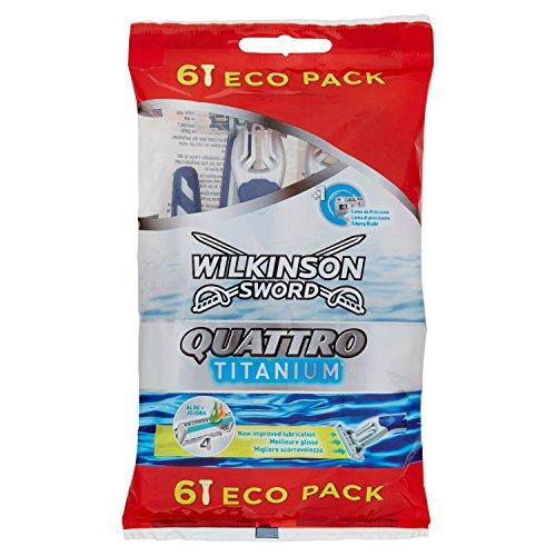 Wilkinson quattro titanium